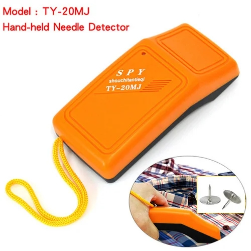 Handheld Metal Detector Needle Scanner Tester Hand Held Food Monitor Needle Finder Search Magnets Iron In Cloth Toys TY-25MJ
