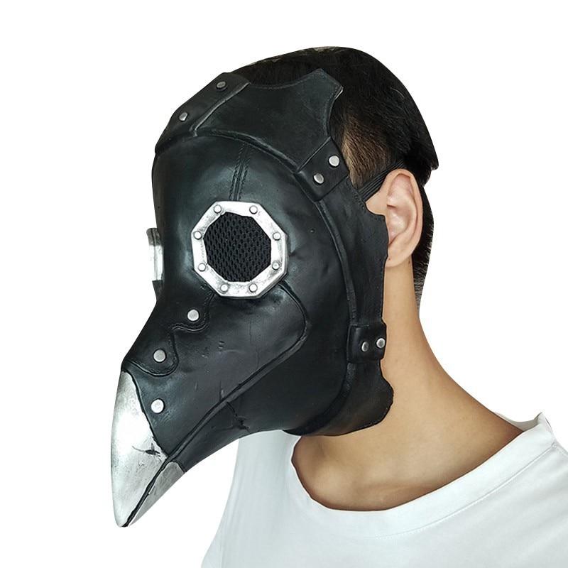 Crow Bird Mouth Mask Halloween Party Masquerade Costumes Festive Dress Up Fancy MasksCM