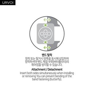 Image 5 - URVOI קישור צמיד gen.6th 3rd 1st עבור אפל שעון סדרת 6 5 4 3 רצועת עבור iWatch מתכוונן באיכות גבוהה נירוסטה בנד