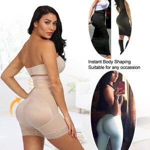 Image 3 - Yumdo cintura alta sexy bunda levantador calcinha de controle feminino barriga recuperação compressão bunda levantador emagrecimento underwear pós parto