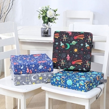 Portable High Chair Pad Booster Dining Room Adjustable Detachable Sponge Seat Cushion for Toddler Kids Baby