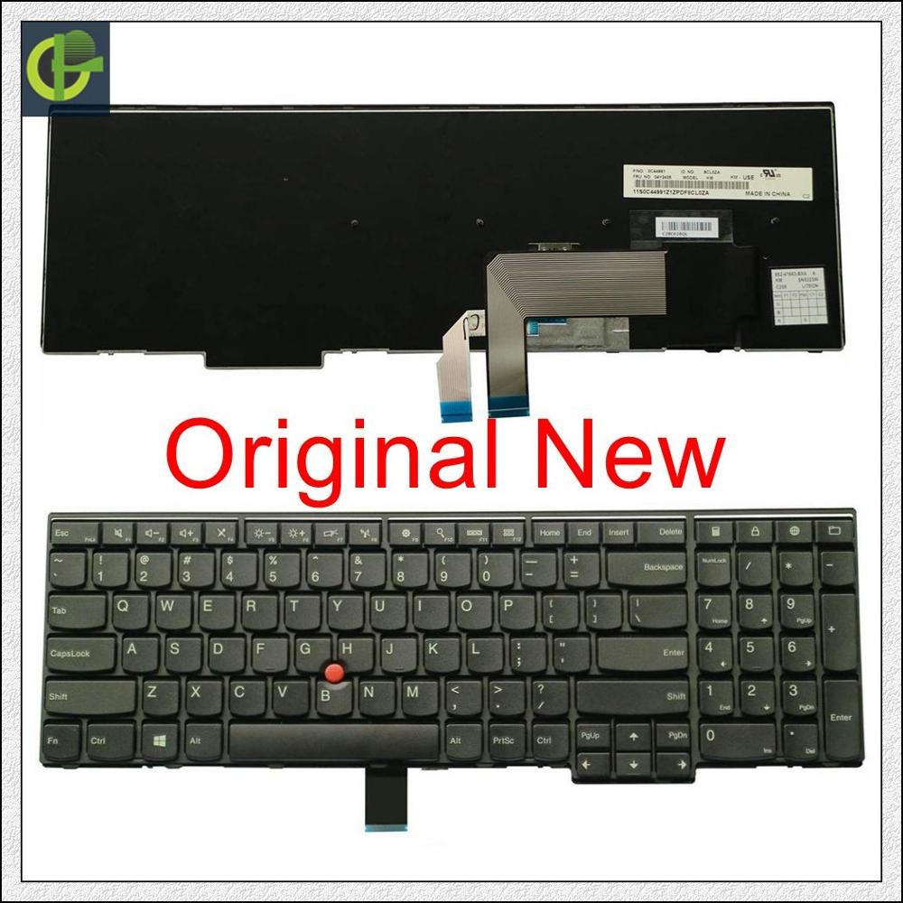 New Original English Keyboard For Lenovo ThinkPad W540 W541 W550s T540 T540p T550 L540 Edge E531 E540 L570 0C44592  0C44944 US