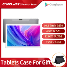 Tablets Teclast M30 Tablet PC 10.1 Inch Andriod 2560*1600 IPS 4G Phone Call Notebook 4GB RAM 128GB ROM Type C GPS