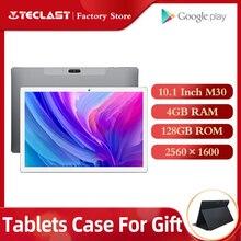 タブレットteclast M30 タブレットpc 10.1 インチのandriod 2560*1600 ips 4 グラム電話ノートブック 4 1gbのram 128 ギガバイトromタイプc gps