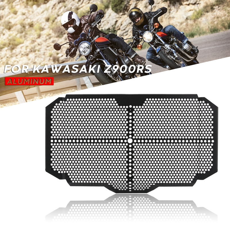 Free Shipping Motorcycle Accessories Radiator Guard Grille Protection Cover For <font><b>Kawasaki</b></font> <font><b>Z900RS</b></font> <font><b>Z900</b></font> <font><b>RS</b></font> image