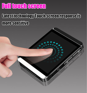 Image 5 - RUIZU M5 Full Touch Screen Portable MP3 Player 8GB/16GB Sport Bluetooth MP3 Player Support FM,Recording,E Book,Clock,Pedometer