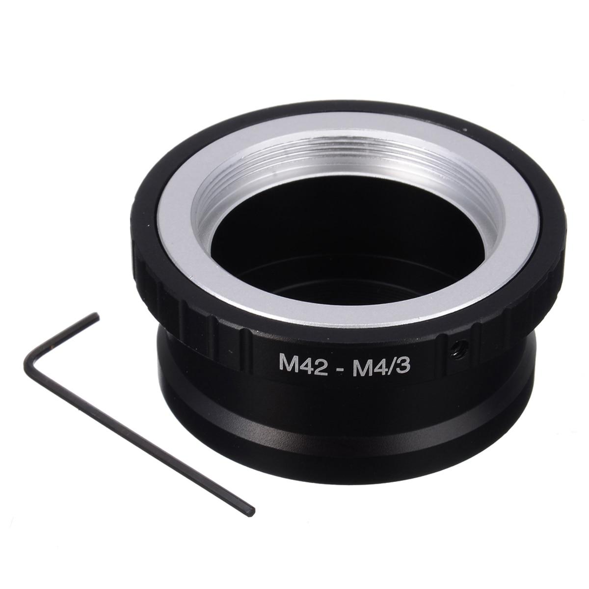 Аксессуары крепление камеры адаптер кольцо M42 объектив Микро 4/3 на M4/3 MFT в для Olympus Pen для пользователей Lumix г