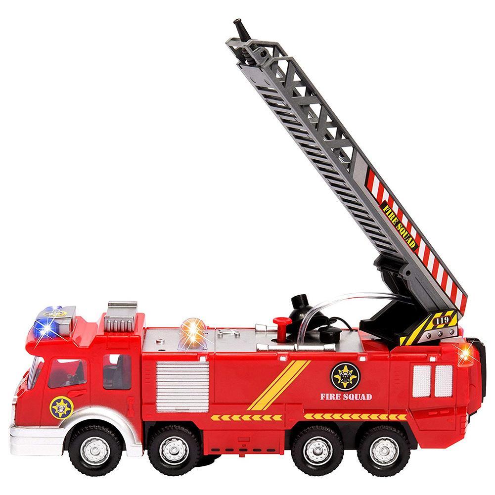 360 Вращение электрическая игрушка «пожарная машина» с музыкой светодиодный съемки воды, игрушка для детей, хороший подарок