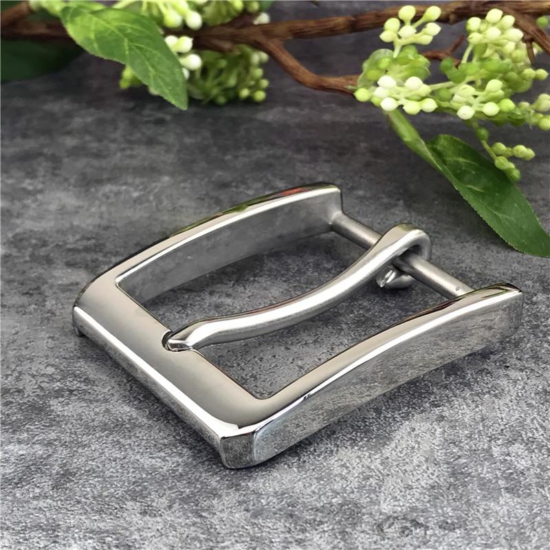 2PCS Stainless Steel Belt Buckles For Men Belt Garment Accessories Leather Craft Buckle Belt Men's Waist Buckle For Belt SK0009