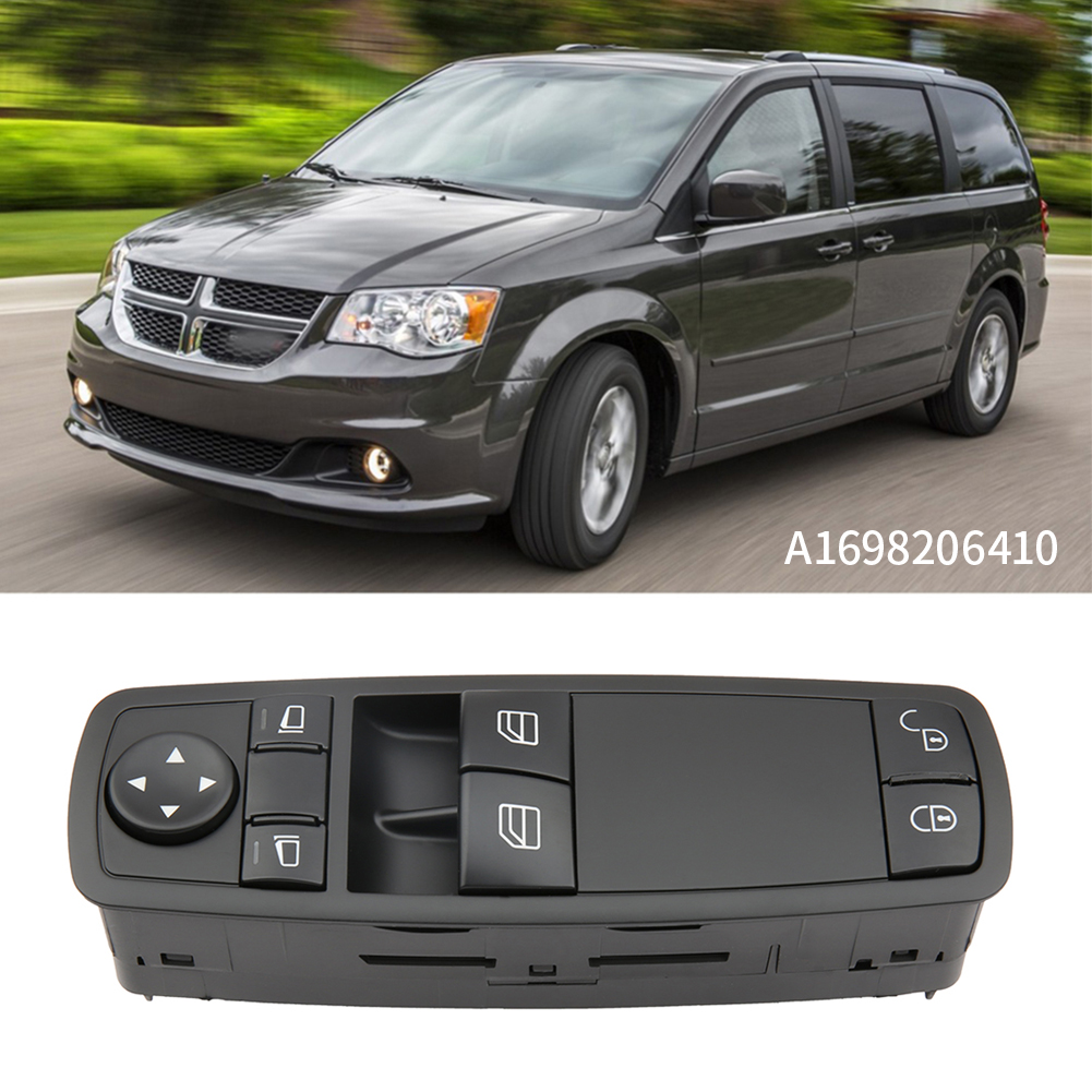 1698206410 A1698206410 Master Power Window Control Switch Button For <font><b>Mercedes</b></font> For Benz <font><b>W169</b></font> <font><b>A170</b></font> A200 Classe Ws212 A169 8206 410 image