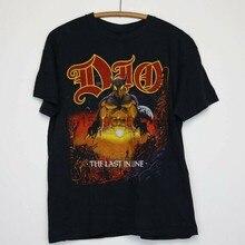 Dio Hemd Vintage t-shirt 1984 Letzten in Linie Tour Konzert T 1980s Claude Schnell