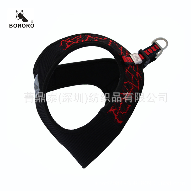 Bororo Mode High-End-Haustier Liefert SPORT V8 Harness Fly Woven Stoff Tauchen Stoff xiong bei yi