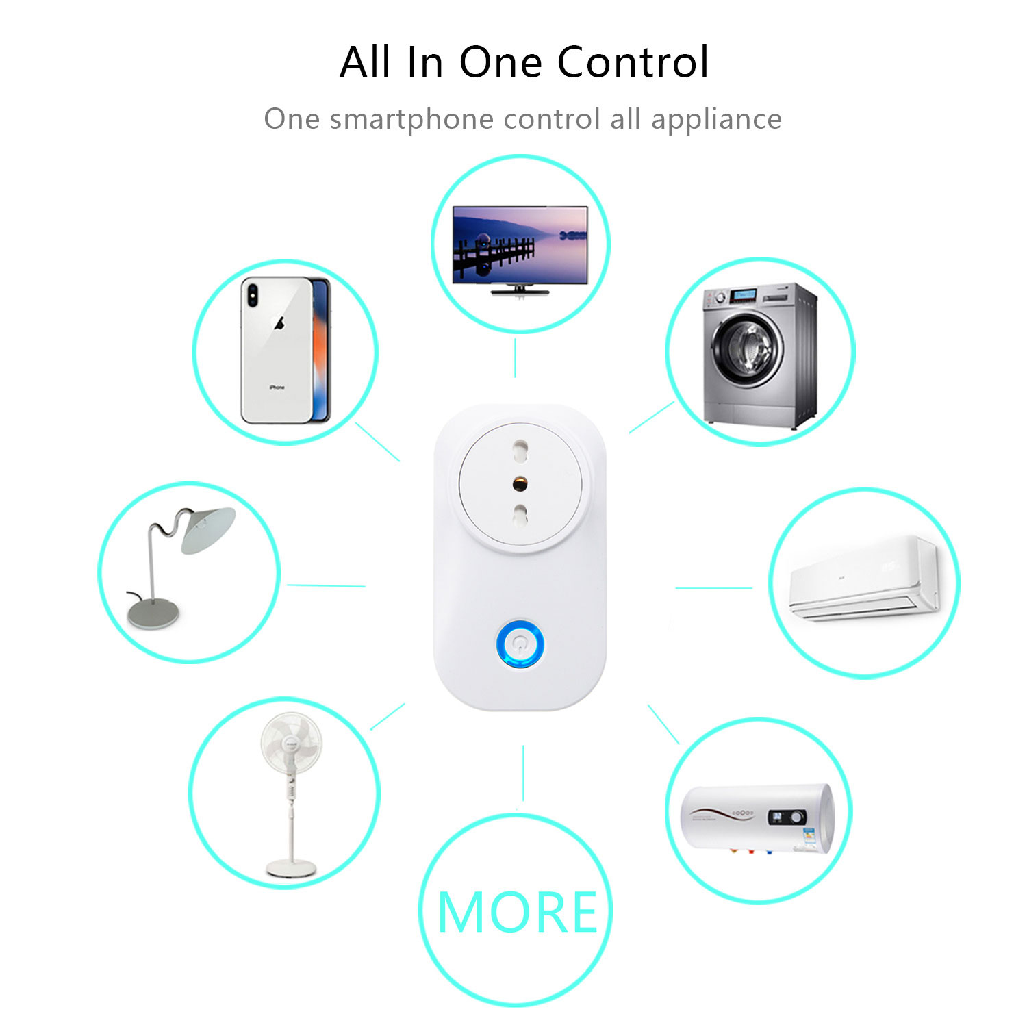 Hb3c82672ec3144e0a06594379bbba722y - Chile Smart Plug Italy Wifi Socket Plug IT CL 16A Power Monitor Voice Control Works With Alexa Google Home Tuya Smart Life