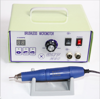 Dental Micromotor 70000 RPM Brushless Dental Micromotor Polishing Unit with Lab Handpiece Jewellery Engraving Micromotor