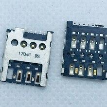 X Флип старая машина 6/8pin Micro SIM TF SD карта адаптер держатель ридер материнская плата гибкий кабель ремонт аксессуар FPC Металл извлечения Pin