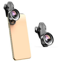 APEXEL HD 2 in 1 Camera Phone Lens 4K 120 degree Super Wide angle 10x Macro Lens for iPhone Samsung xiaomi Realme all cellphone