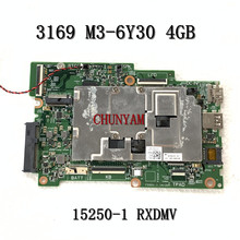 15250-1 Rxdmv Voor Dell Inspiron 11 3169 Laptop Moederbord M3-6Y30 4Gb CN-013MH0 13MH0 Moederbord 100% Getest