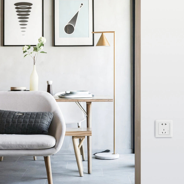 Aqara Smart Steckdose ZigBee Drahtlose Wand Outlet Mijia Steckdose Schalter Arbeit Für Mijia Smart Home Mihome APP 5
