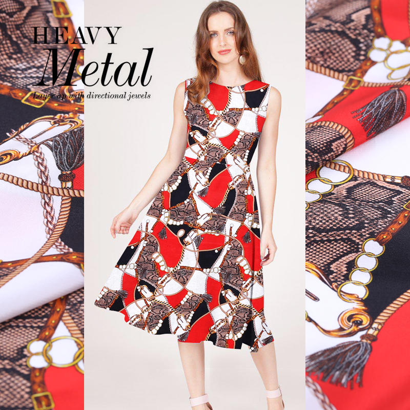 145cm letter printed fabric drape handmade diy dress cheongsam pajamas scarf material polyester wholesale cloth