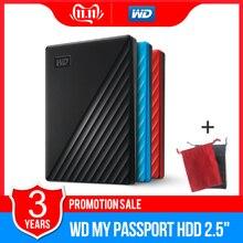 Western Digital WD My Passport™1 ТБ 2 ТБ 4 ТБ внешний жесткий диск WD резервного копирования™Программное обеспечение и защита паролем Гарантия 3 года