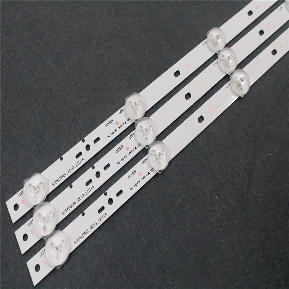 5-1 комплект = 10 шт., светодиодный светильник для ЖК-телевизора SONY KLV-40R470A SVG400A81 _ REV3_121114 смотреть на Алиэкспресс Иркутск в рублях