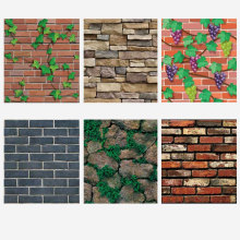 цена на 3d Wallpaper Brick Self Adhesive Brick Wallpaper for Walls Decor Wall Paper Rolls for Bedroom Living Room Wall Brick 45x100cm