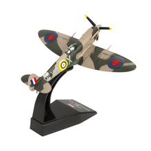 Terebo 1:72 Spitfire Fighter Model World War II Alloy Aircraft Model Simulation Military Decoration collection gift