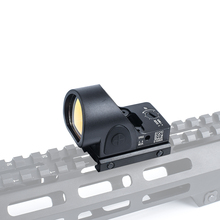 AIM-O Tactical Riflescope Mini SRO Red Dot Scope Sight Airsoft AO6010 Hunting Reflex Sight Scope Mounts & Accessories hunting scope tactical acog 1x32 red dot sight scope optic reflex riflescope with 20mm picatinny rail for rifle m4 m16 airsoft