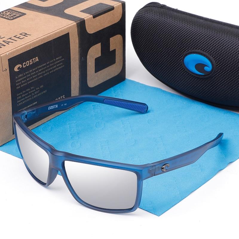Rinconcito Polarized Sunglasses Men 580P Driver Shades Male Vintage Sun Glasses For Men Spuare Fish Goggle Gafas UV400