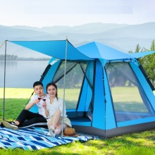 лучшая цена Increase rainproof 3-4 people automatic tent speed open outdoor camping tent outdoor supplies camping equipment