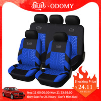 ODOMY Universal Auto Car Seat Covers Auto Dustproof Protector Seat Case for Vehicle Cover Luxury