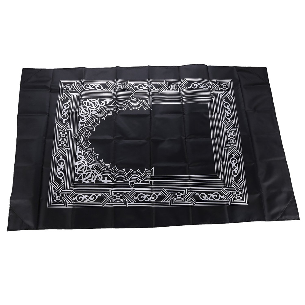 Image 5 - 100*60cm Pocket Prayer Mat Nylon Muslim Travel Praying Rug 