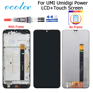 Image 1 - For UMI Umidigi Power LCD Display and Touch Screen 6.3 Digitizer Replacement + Tools For Umidigi Power With Frame+ Film