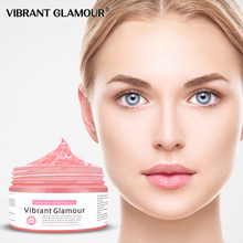 VIBRANT GLAMOUR Dracaena Essence Gel Face Mask Cleaning Anit Aging Skin Care Depth Replenishment Pigmentation Corrector Cream(China)