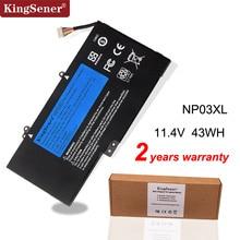 KingSenerแบตเตอรี่แล็ปท็อปNP03XLสำหรับHP Pavilion X360 13 A010DX TPN Q146 TPN Q147 TPN Q148 HSTNN LB6L 760944 421 15 U010DX