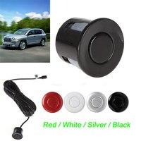 Sensor de estacionamiento para coche, vista trasera/delantera, resistente a la intemperie de 22mm, 4 colores opcionales