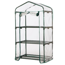 Pvc Cozy Garden Level Mini Home Greenhouse Plants Waterproof Uv Protection Cover And Flowers