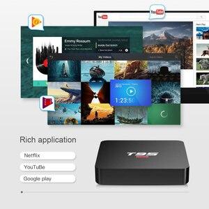 Image 3 - BYINTEK TV Box Android 10.0 ,2G+16G 2.4G WIFI, Media Player Netflix Hulu,Media player 4K Google Voice Assistant Youtube