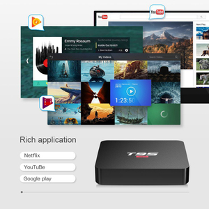 Image 2 - BYINTEK TV Box sistema operativo Android 10.0, 2G 16G 2.4G chip wifi3229, lettore multimediale Netflix Hulu, lettore multimediale 4K Youtube