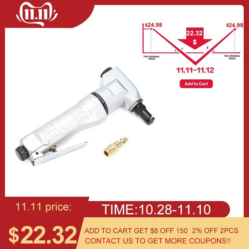 Professional  Handheld Air Nipper Pneumatic Cutting Tool Nibbler Drill Attachment Metal Sheet Cutter Free Cutting Tools