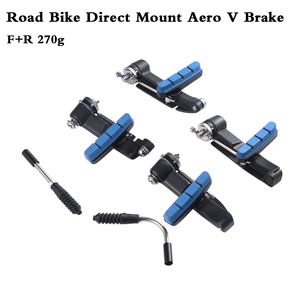 RACEWORK V Brake Front or Rear Road Bike Direct Mount Aero V Brake For Giant Propel Black new without Orignal box-in Bicycle Brake from Sports & Entertainment    1