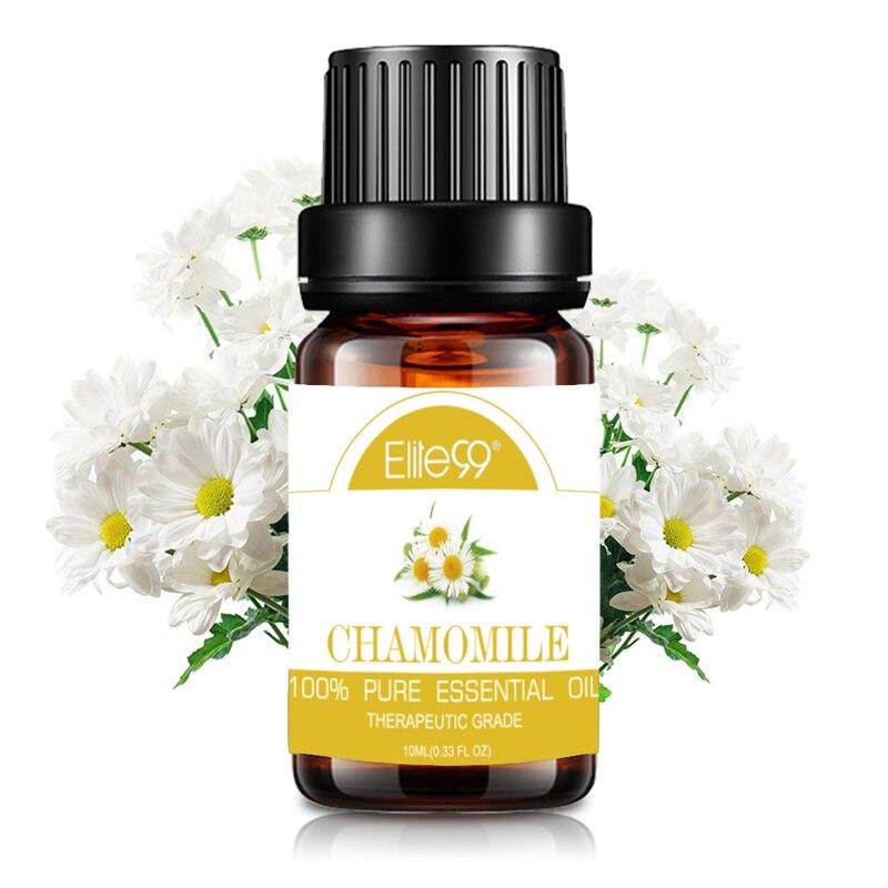 Elite99, 10 мл, ромашки, чистые эфирные масла для ароматерапии, ароматизатор, лампа для снятия стресса, очищающая воздух, массаж, арома, эфирное ма...