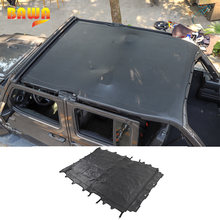 Автомобильный чехол bawa 4 двери кожаный мягкий на крышу полная