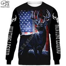 Deer Hunting legend 3d all over Printed Unisex hoodies Harajuku Fashion Casual Hooded Sweatshirt zip hoodies all over printed open shoulder dress
