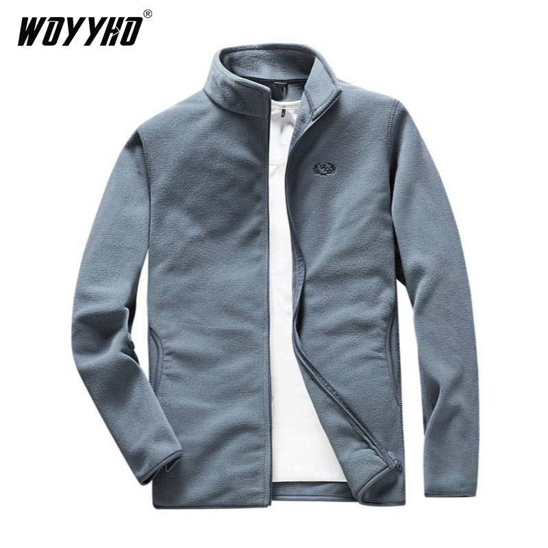 Hiking Jacket Sportswear Fleece Winter Plus-Size Men's Camping Trekking-Mountaineering title=