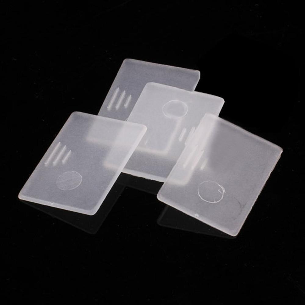 LH126 очки ремонт винт гайка носоупоры прозрачная запасная часть части пластиковая коробка изысканно разработанный прочный