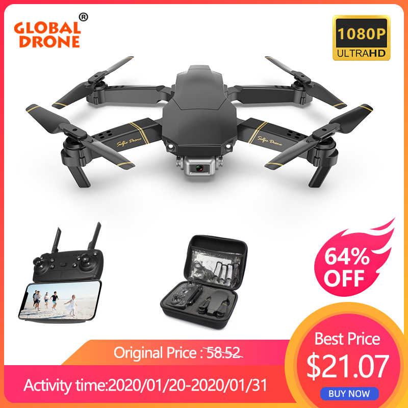 Global Drone EXA Drone dengan Kamera HD 1080P Video Drone X PRO Helikopter RC FPV Quadrocopter Drone Vs drone E58 E520