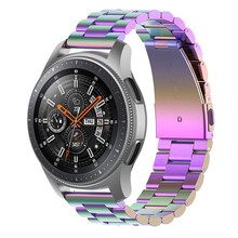 Horloge Band 20/22 Mm Correa Voor Samsung Galaxy Gear S3 Frontier Active2 40 Mm 44 Mm Huawei Gt 2 Band Armband Voor Amazfit Bip Band(China)