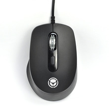 HOME Office Working Business Computer Mouse Optical 4D Mause for Dell/Lenovo/Macbook/Asus PC Notebook with Metal Roller