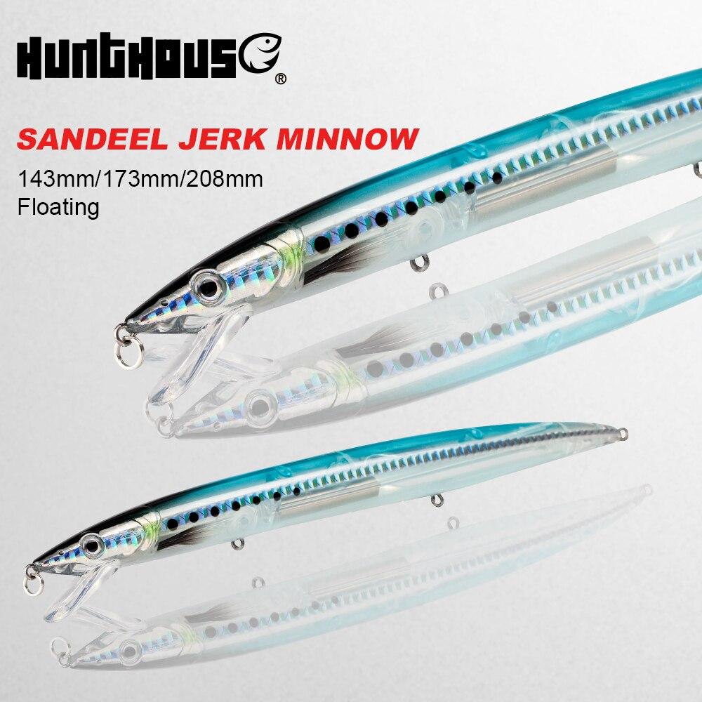 SAVAGE GEAR 3D SANDEEL JERK MINNOW LURE PREDATOR FISH SALT PIKE ZANDER BASS CAST